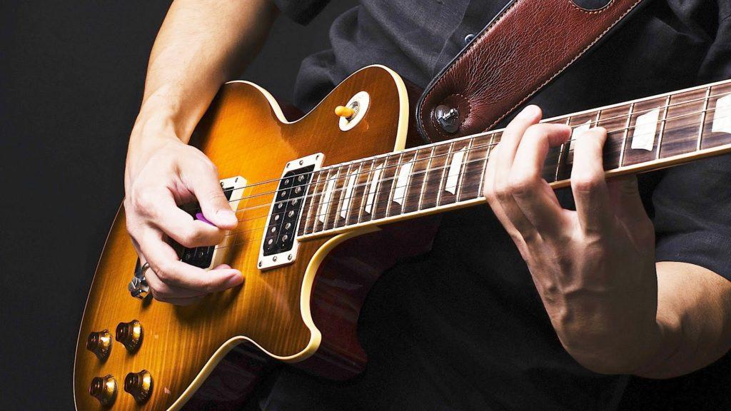 Jazz electric guitar
